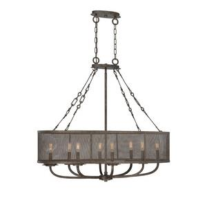 Nouvel - Eight Light Oval Chandelier