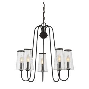 Oleander - Five Light Outdoor Chandelier