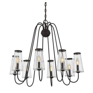 Oleander - Eight Light Outdoor Chandelier