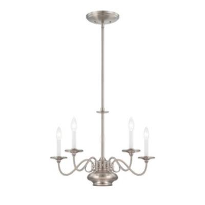Savoy House 1-5450-5-SN Bancroft - Six Light Chandelier