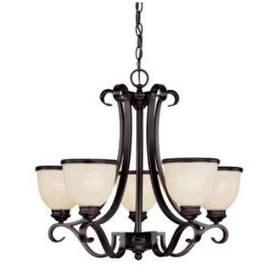 Savoy House 1-5775-5-13 Willoughby - Five Light Chandelier