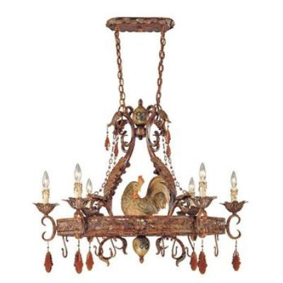 Savoy House 1-592-6-125 Clyde - Six Light Pot Rack Chandelier