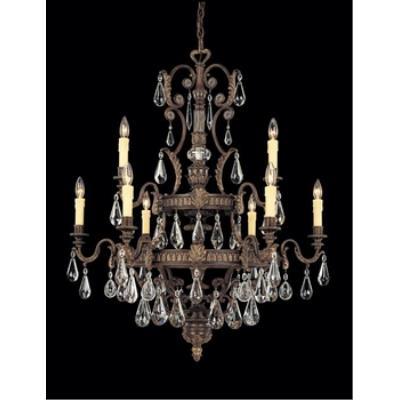 Savoy House 1-6203-9-241 L'Art du Luminaire - Nine Light Chandelier