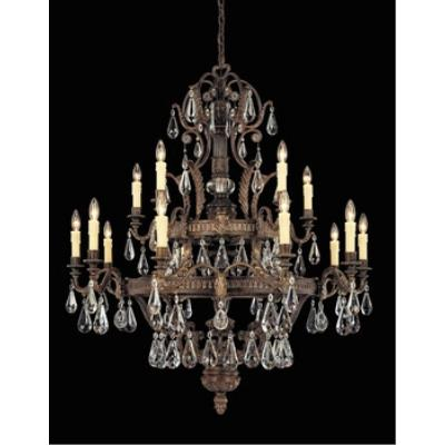 Savoy House 1-6205-15-241 L'Art du Luminaire - Fifteen Light Chandelier