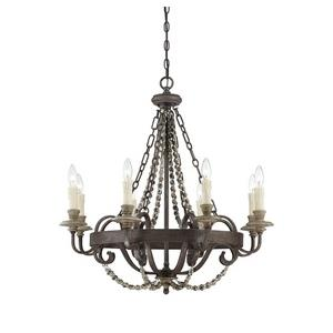 Mallory - Eight Light Chandelier
