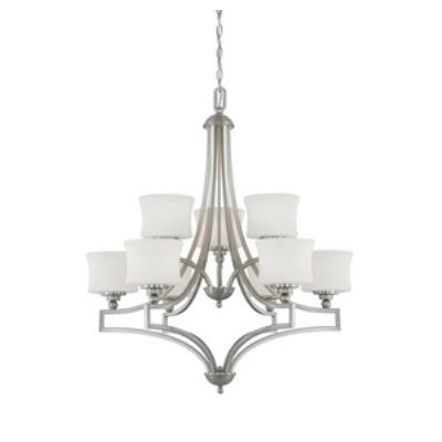 Savoy House 1P-7211-9-SN Terrell - Nine Light Chandelier