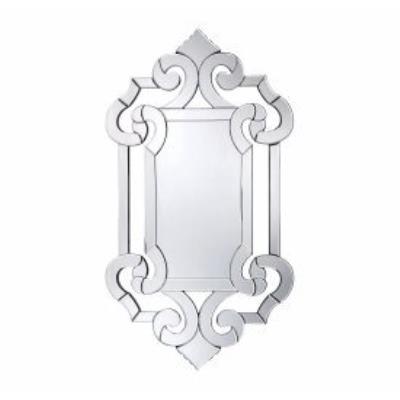 "Savoy House 4-1201 Marianne - 30"" Crystal Glass Mirror"