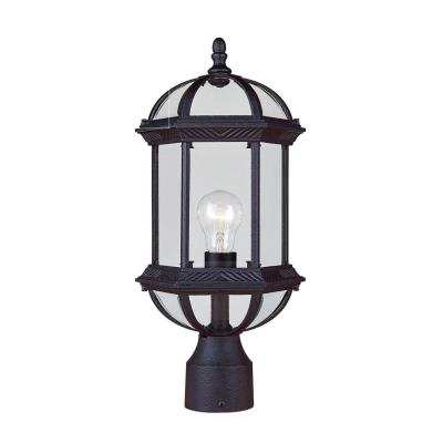 Savoy House 5-0632-BK Kensington - One Light Outdoor Post Lantern