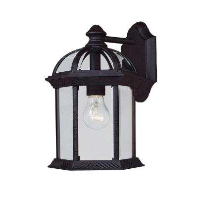 Savoy House 5-0634-BK Kensington - One Light Outdoor Wall Lantern