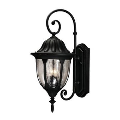 Savoy House 5-1501-BK Tudor - Two Light Outdoor Wall Lantern
