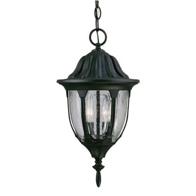 Savoy House 5-1502-BK Tudor - Two Light Outdoor Hanging Lantern