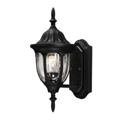 Savoy House 5-1503-BK Tudor - One Light Outdoor Wall Lantern