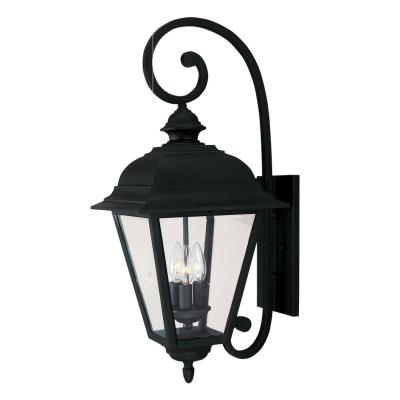 Savoy House 5-1602-BK Westover - Three Light Outdoor Wall Lantern