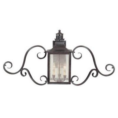 Savoy House 5-253-13 Monte Grande - Three Light Wall Mount with Scrolls