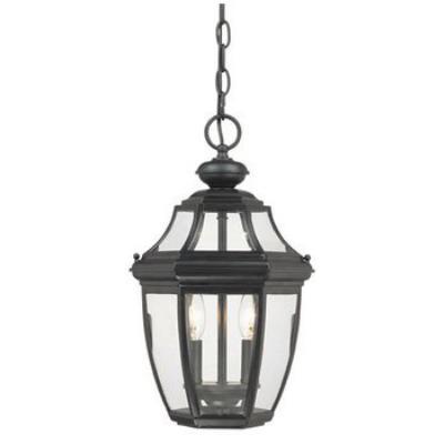 Savoy House 5-494-BK Endorado - Two Light Hanging Lantern