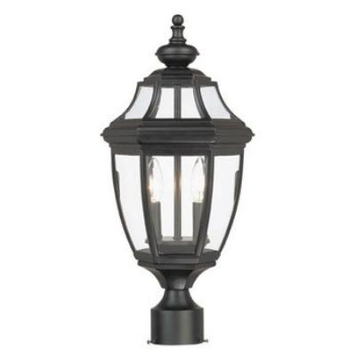 Savoy House 5-497-BK Endorado - One Light Post Lantern