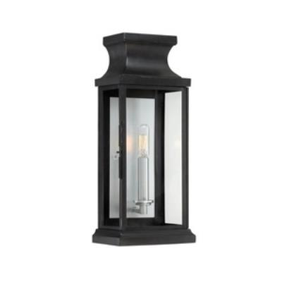 Savoy House 5-5910-BK Brooke - One Light Outdoor Wall Mount