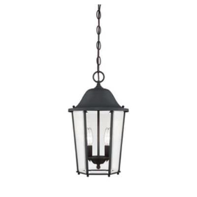 Savoy House 5-6210-BK Truscott - Two Light Outdoor Hanging Lantern