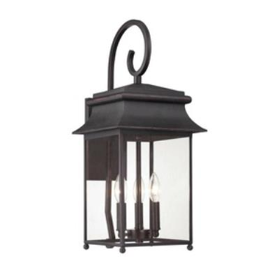 Savoy House 5-9541-25 Durham - Three Light Outdoor Wall Lantern