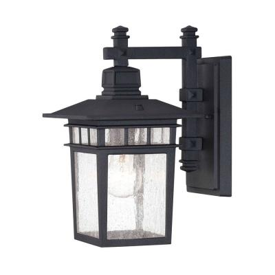 Savoy House 5-9590-BK Linden - One Light Outdoor Wall Lantern