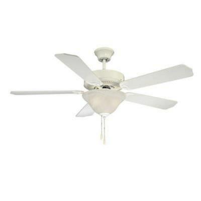 "Savoy House 52-ECM-5RV-WH 52"" Ceiling Fan"