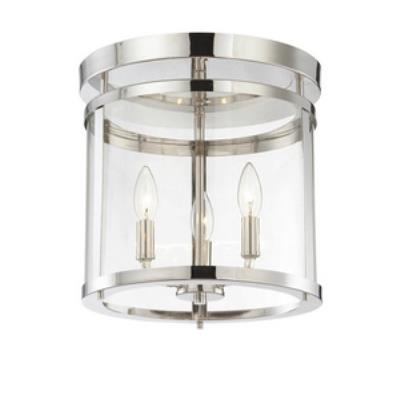 Savoy House 6-1043-3-109 Penrose - Three Light Semi-Flush Mount