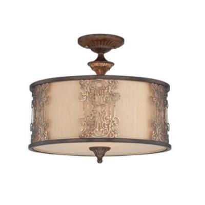 Savoy House 6-3952-3-124 Windsor - Three Light Semi-Flush Mount