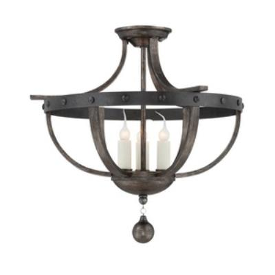 Savoy House 6-9540-3-196 Alsace - Three Light Semi-Flush Mount