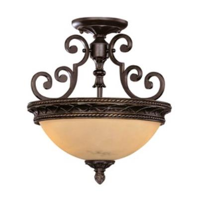 Savoy House 6P-50212-2-16 Knight - Two Light Semi-Flush Mount