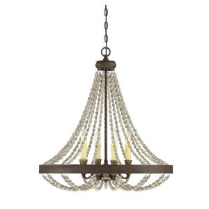 Mallory - Four Light Chandelier