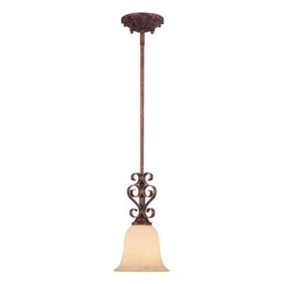 Savoy House 7P-877-1-56 Rue De Ville - One Light Mini-Pendant