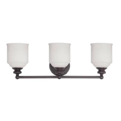 Savoy House 8-6836-3-13 Melrose - Three Light Bath Bar