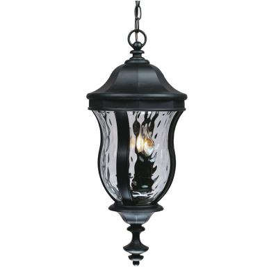 Savoy House KP-5-302-BK Monticello - Three Light Outdoor Hanging Lantern
