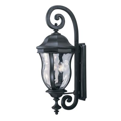 Savoy House KP-5-303-BK Monticello - Four Light Outdoor Wall Lantern