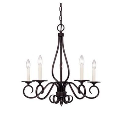 Savoy House KP-95-5 Oxford - Five Light Chandelier