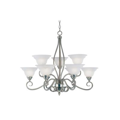 Savoy House KP-SS-99-9-69 Polar - Nine Light Chandelier