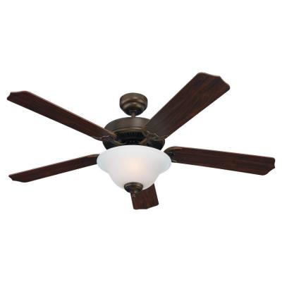 "Sea Gull Lighting 15030BLE-829 Quality Max Plus - 52"" Fluorescent Ceiling Fan"