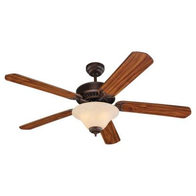 "Sea Gull Lighting 15163B-191 Quality Pro Deluxe - 52"" Ceiling Fan"