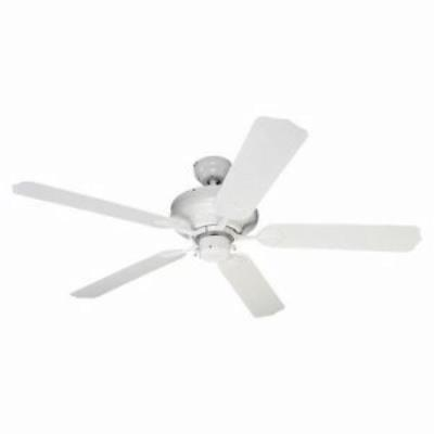 Sea Gull Lighting 1540-15 White Indoor / Outdoor Ceiling Fan