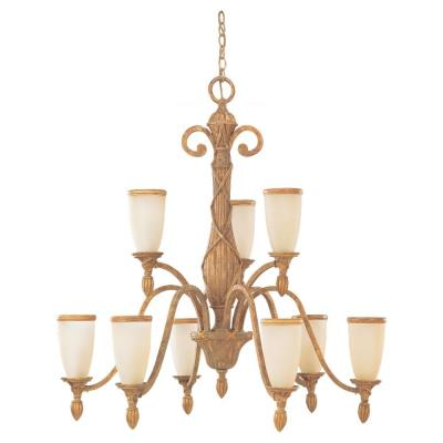 Sea Gull Lighting 31101-801 Nine-light Fairmont Chandelier