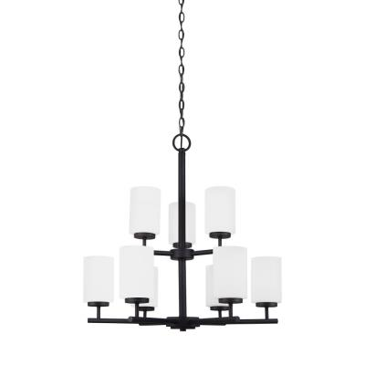 Sea Gull Lighting 31162-839 Oslo - Nine Light Chandelier