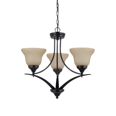 Sea Gull Lighting 31173BLE-710 Brockton - Three Light Chandelier