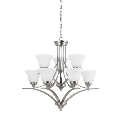 Sea Gull Lighting 31175BLE-962 Brockton - Nine Light 2-Tier Chandelier