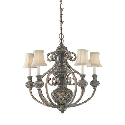 Sea Gull Lighting 31251-758 Five-light Highlands Chandelier