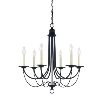 Sea Gull Lighting 31294-839 Plymouth - Six Light Chandelier