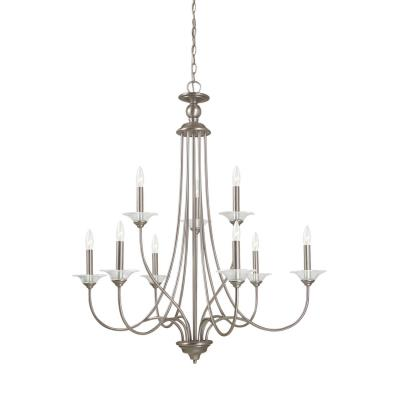 Sea Gull Lighting 31319-965 Lemont - Nine Light 2-Tier Chandelier