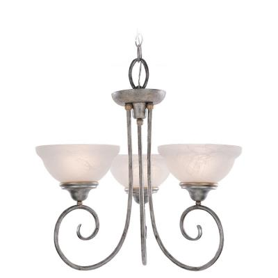 Sea Gull Lighting 3138-61 Three Light Chandelier