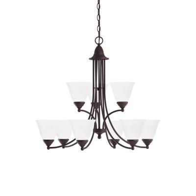 Sea Gull Lighting 31577-782 Albany - Nine Light Chandelier