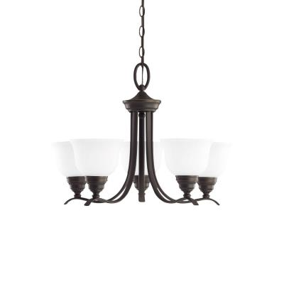Sea Gull Lighting 31626-782 Wheaton - Five Light Chandelier