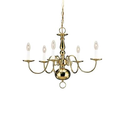 Sea Gull Lighting 3410-02 Five Light Chandelier